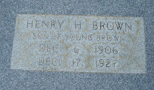 Henry Handy Brown marker