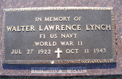 Walter Lawrence Lynch marker