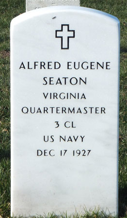 Alfred Eugend Seaton marker
